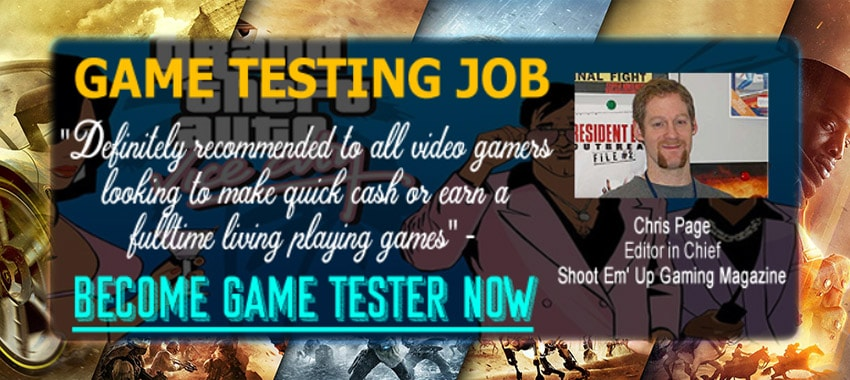 Become Game Tester