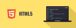 HTML 5 programming language